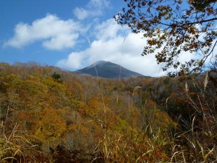 磐梯山の秋