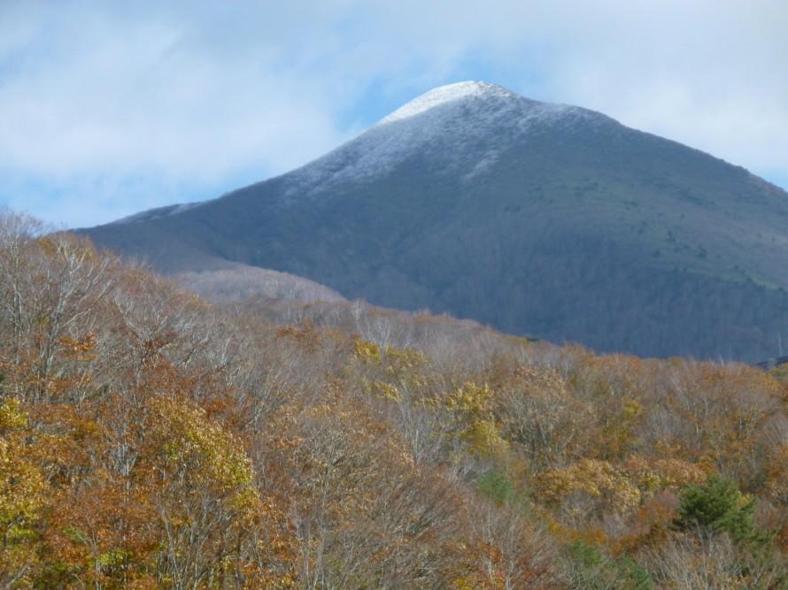 初冠雪 磐梯山