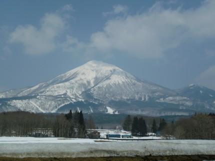 春分の日の磐梯山